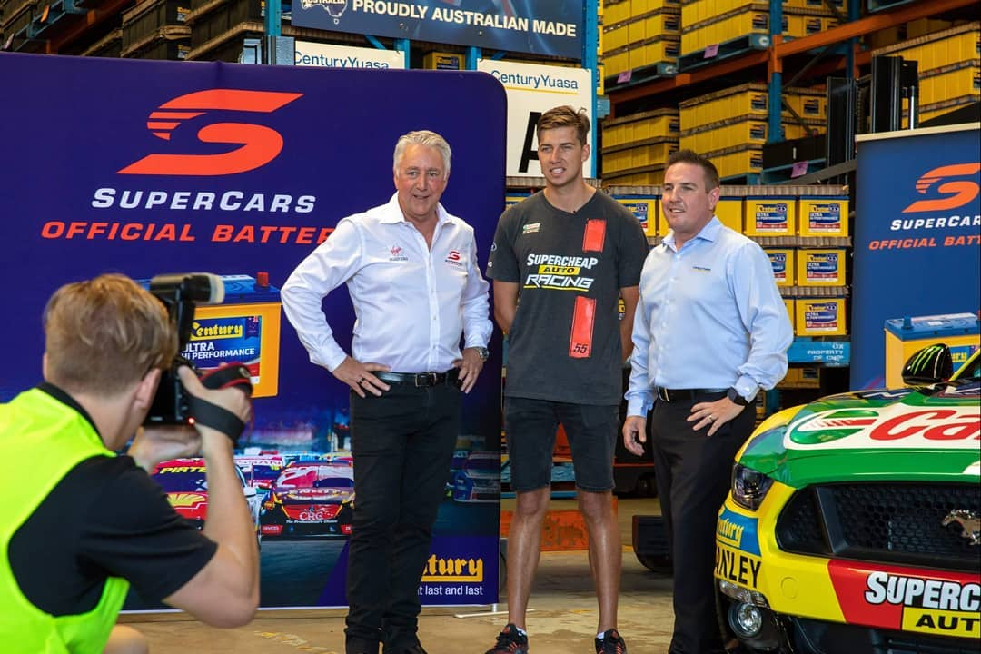 AusGarage Century Batteries Supercars